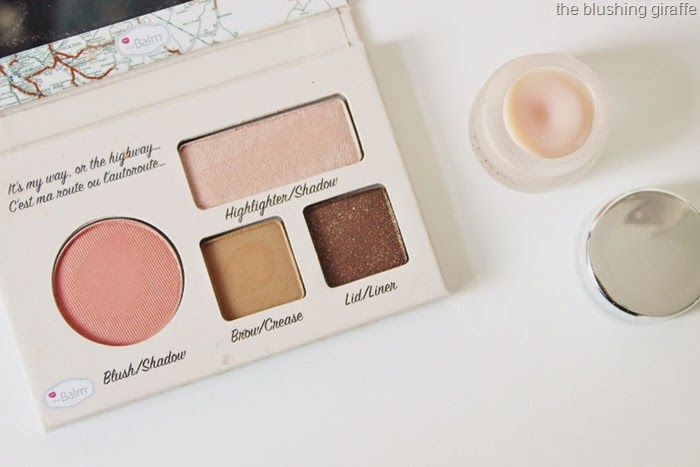 thebalm auto balm california face palette by terry baume de rose lip balm