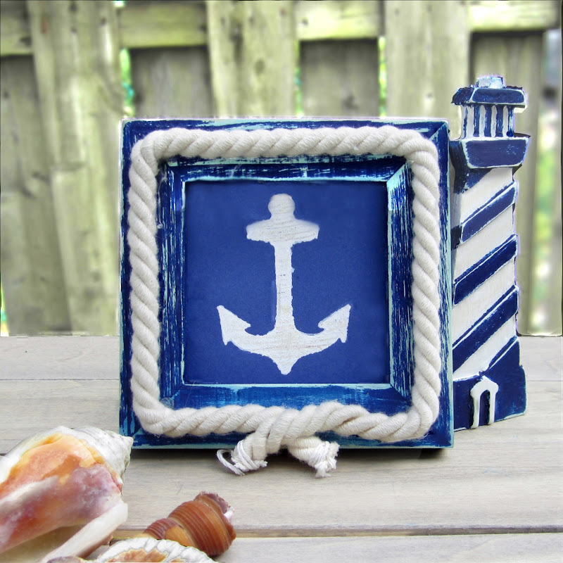 it s a quick follow up to my last on modern diy nautical dcor you re not - Nautical Frames