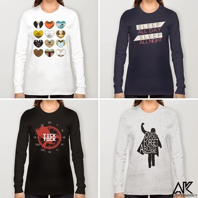 Long Sleeve Tee Shirts from August Decorous via allonsykimberly.com