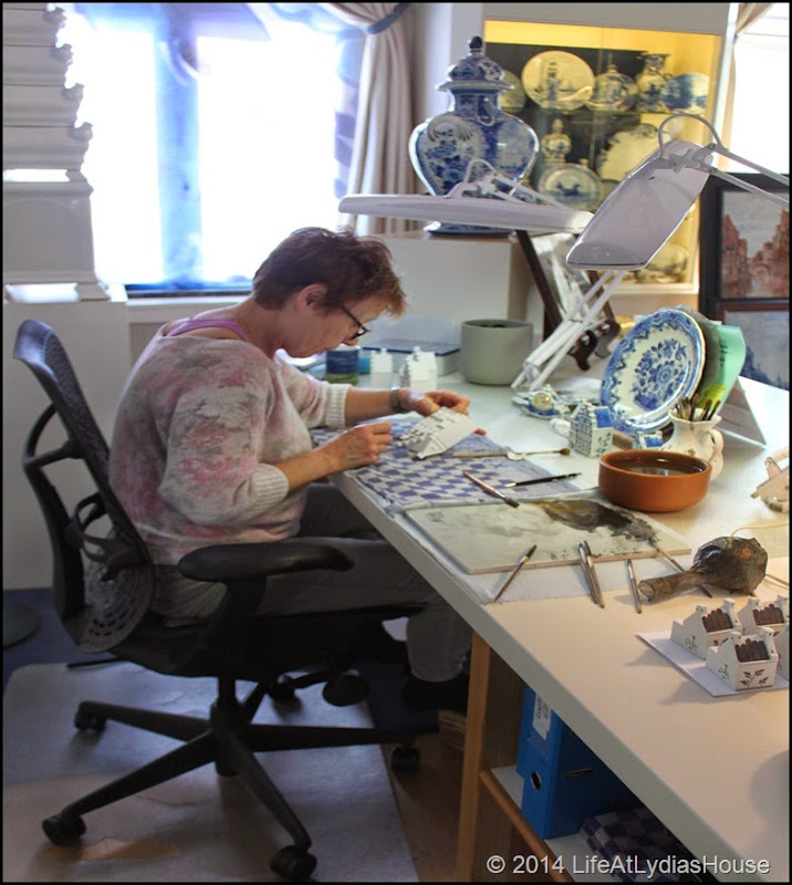 Delftware painter