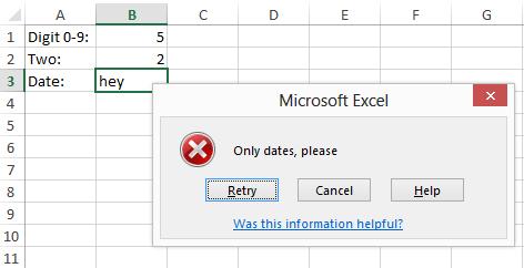 Validación de datos de entrada con ClosedXML