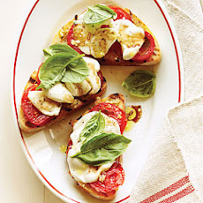 Open-face Caprese Sandwiches