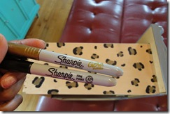 gaveta oncinha sharpie via designsponge