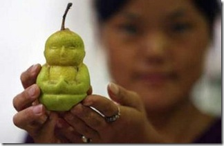 Buddha-shaped pears (2)