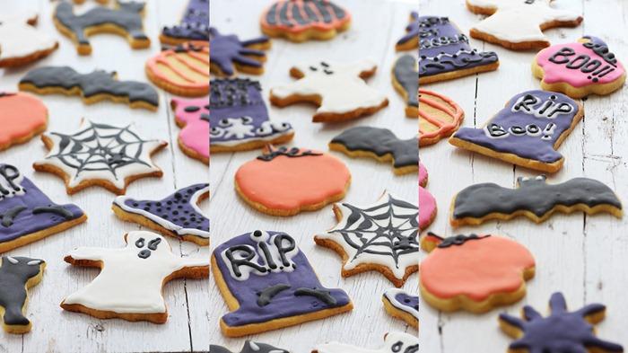 Halloween cookies 16