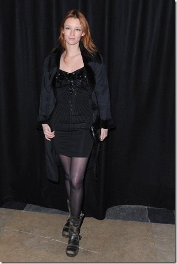 Audrey Marnay Etam Fashion Show Arrivals 2012 XpCoV9ShPjrl