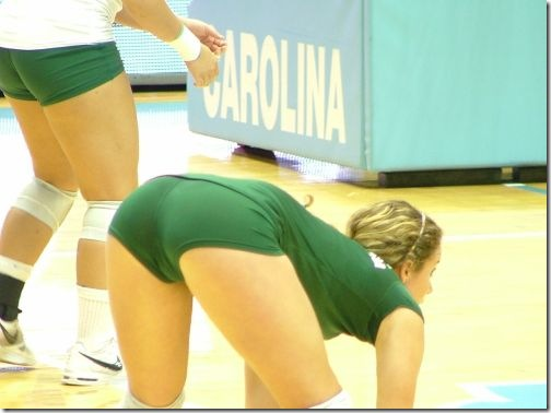 sexy girls volleyball shorts 20