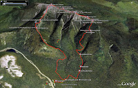 Mt. Lafayette Mt.Lincoln Loop 3D Photo