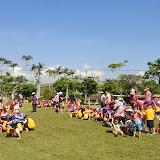 從這個角度一覽,幼兒園的親子公園好美..的幼兒園