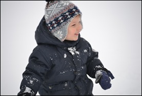 Playing in the snow 042