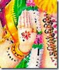 [Narasimhadeva's hand]