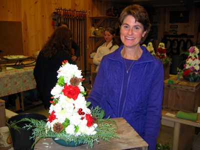 Yuletide Topiary Workshop 019