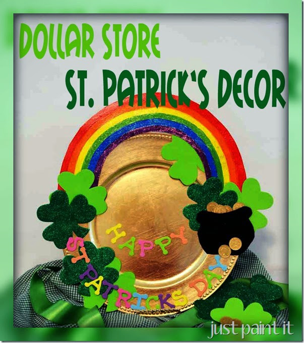 DollarStore-St Pats Decor
