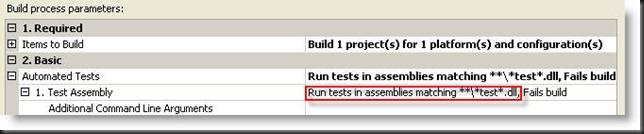 Test Assembly Filter