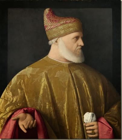 Portrait du doge Andrea Gritti