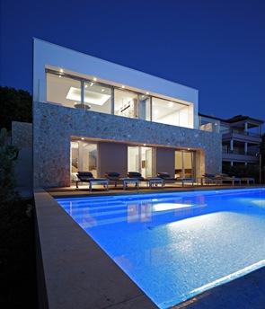 Iluminacion en piscinas