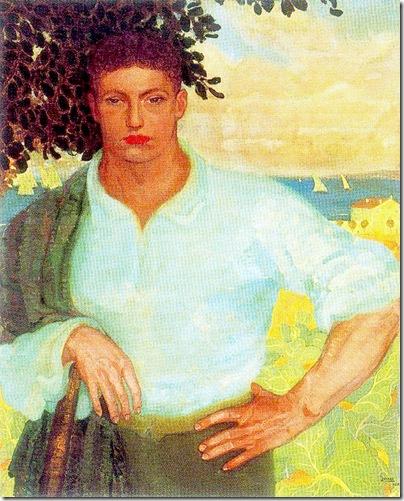 Josep de Togores i Llach -Retrat del noi Bessa- 1911