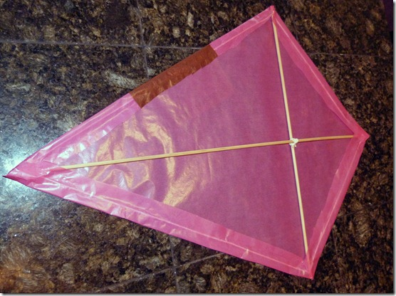 Making a Kite 3
