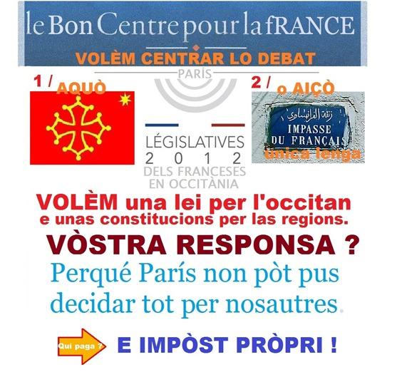 Comentari Centre pour la fRANCE 2