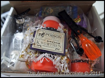 Halloween Goodie Box Closeup