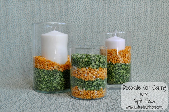 Candles with Label
