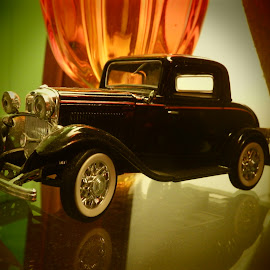 Old Time Classic by Linaee Hultquist - Artistic Objects Toys ( car, model, toy, vintage, automobile, classic )