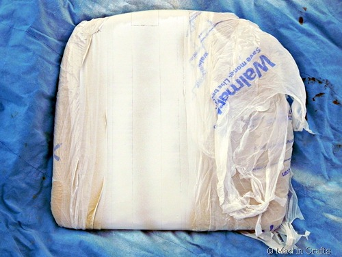 use plastic bags to cover the rest of the cushions