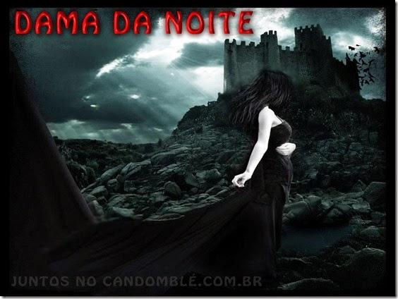 Pomba Gira Dama da Noite - entidade de umbanda e candomblé