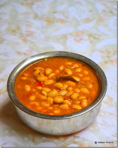 Soya Bean Dry Kurma Recipe with coconut