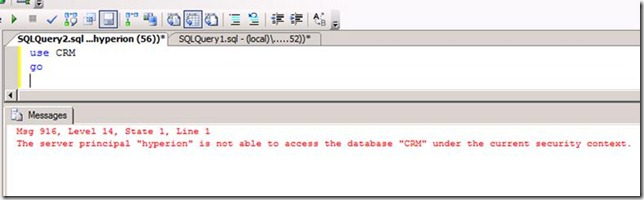 Cannot open database requested by the login. The login failed. SQL Server Error 4060 SQL Error