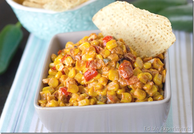 Cheesy Jalepeno Corn Dip (Lightened Up) (6 of 7)