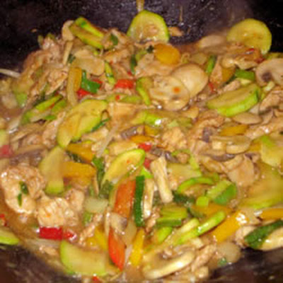 Authentic Thai Cashew Chicken
