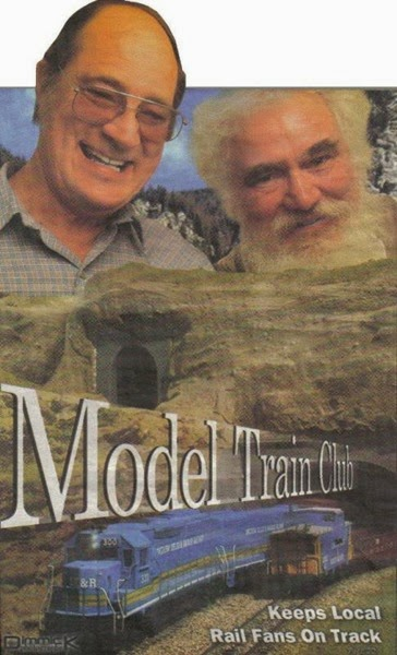 Longview, Kelso & Rainier Model Railroad Club Members Cliff West & Al Belanger in 2005