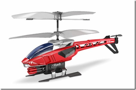Power in Air modello elicottero radiocomandato giocattolo HELI BLASTER rocco giocattoli