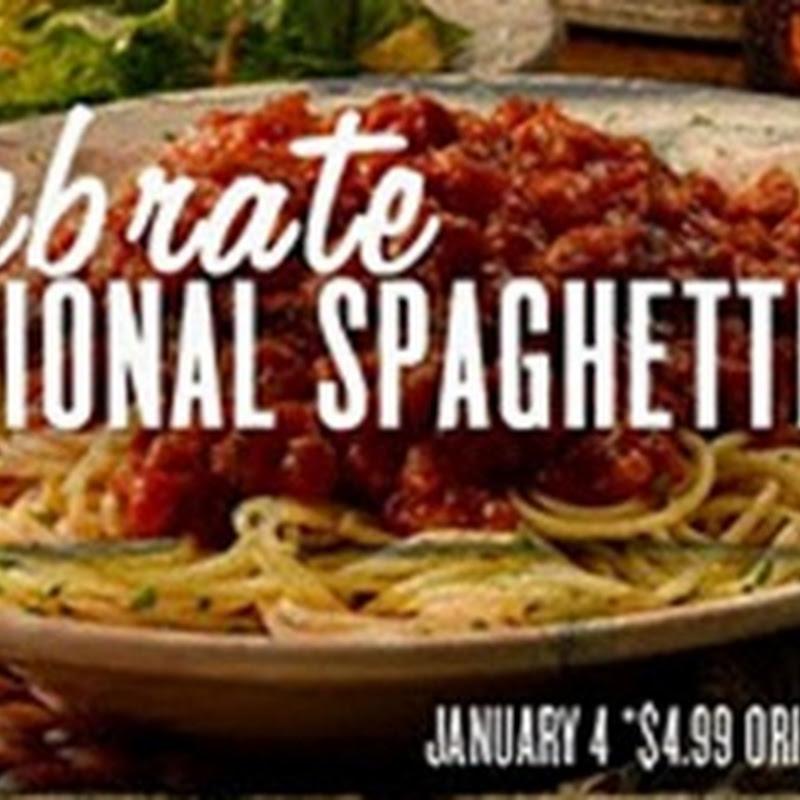Día Nacional del Espagueti (en USA)