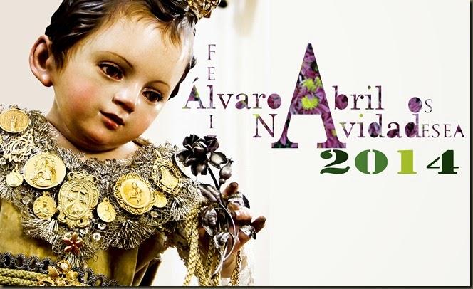 FELICITACION DE NAVIDAD DE ALVARO ABRIL ARTE COFRADE NAVIDAD DE 2014