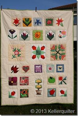 Quilt044-Blumenquilt