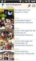 Screenshot of Mamilade Ausflugstipps App