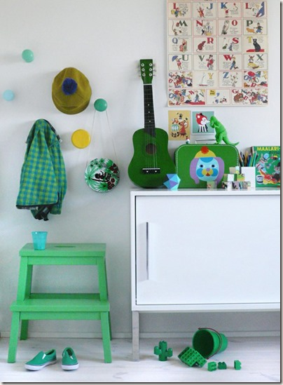 pokój-dla-chłopca-kolor-zielony