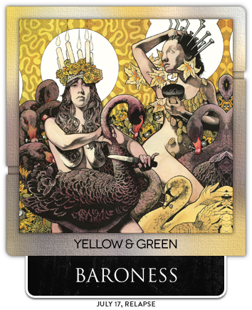 Yellow & Green by Baroness