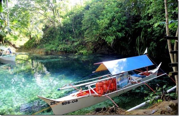 O Rio Encantado de Surigao, Filipinas (3)