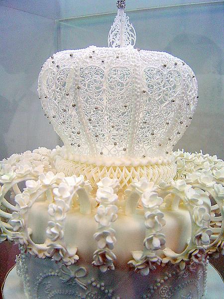 2010烘培展糖花蛋糕比賽__宮殿風特寫