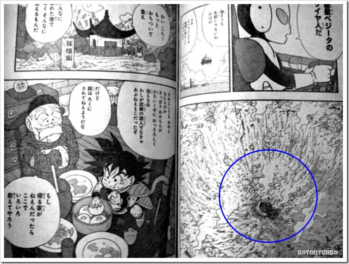Goku y son gohan