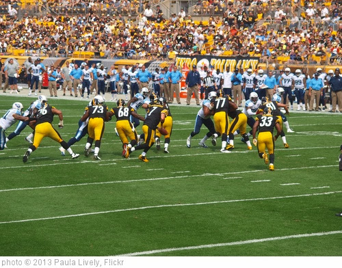 'pittsburgh steelers vs tenn. titians 9-13' photo (c) 2013, Paula Lively - license: http://creativecommons.org/licenses/by/2.0/