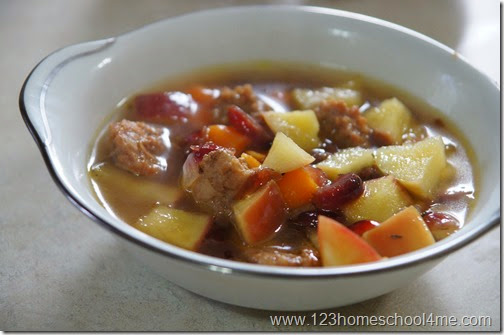 Delicious Sausage and Apple Soup Recipe