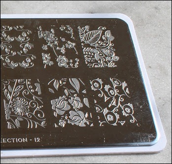 Stamping Plate Moyou Pro Collection 12 b