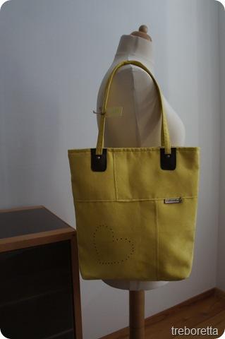 sárga táska treboretta