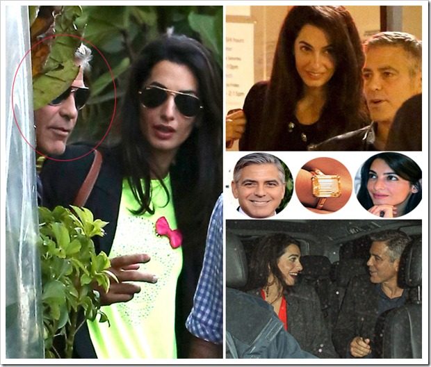 George Clooney's Star Studded Engagement Party