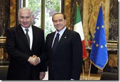 Berlusconi e Netanyahu