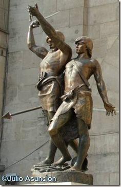 Monumento a Indíbil y Mandonio